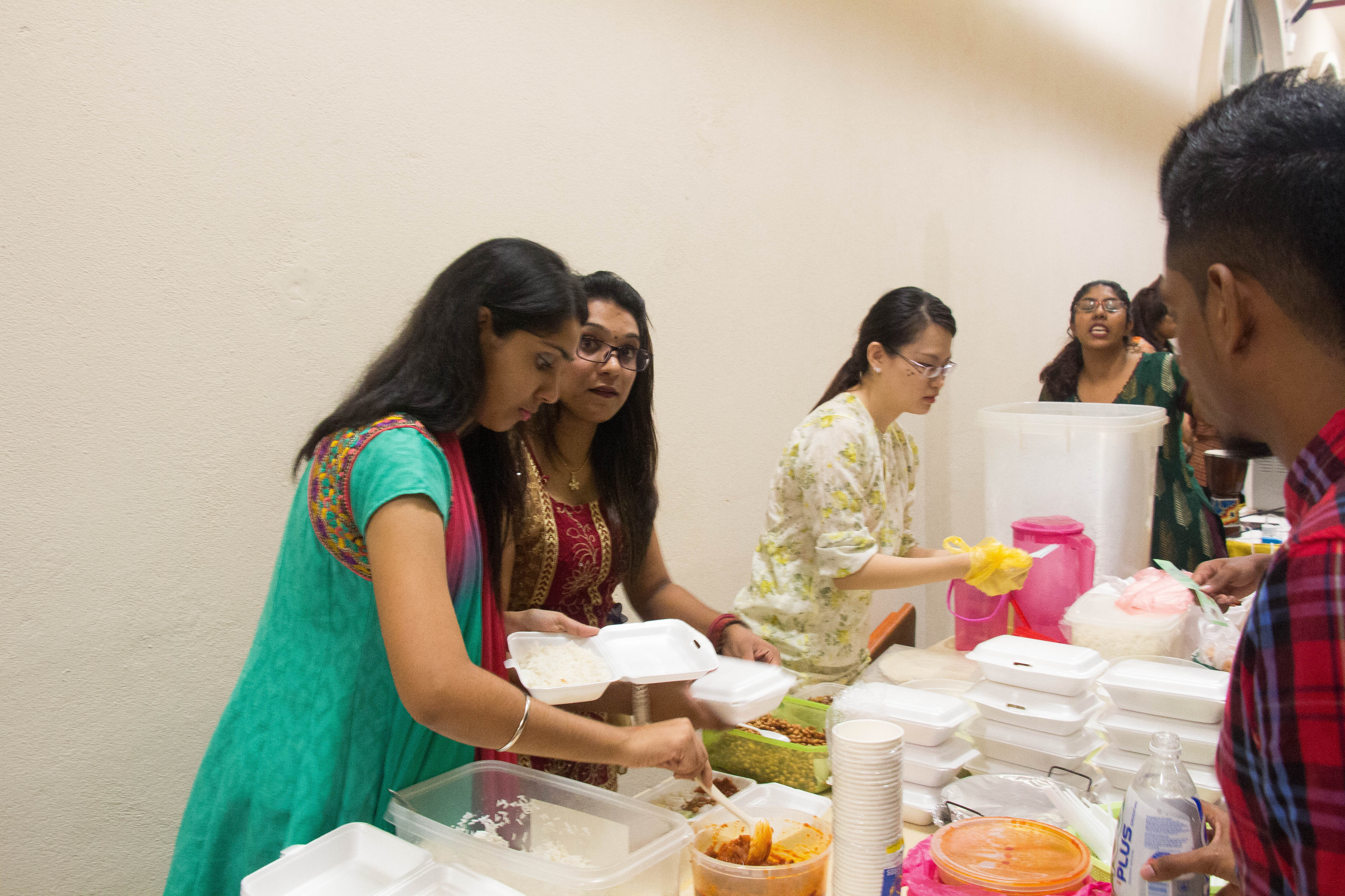 Student Participating International Cultural Night At MIU