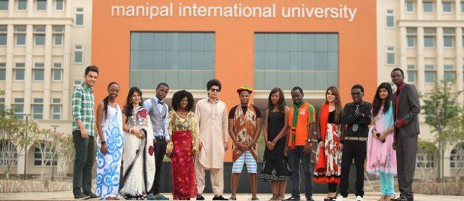 Students Outside The Miu University
