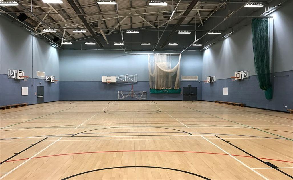 Indoor Basketball Court At Miu